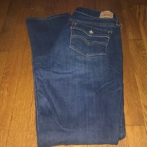 Levi's jeans 505 Straight leg size 12 long